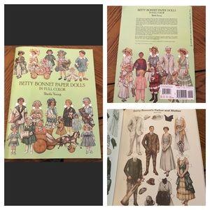 Vintage Paper Dolls Activity Book